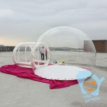 Fashionable product inflatable bubble room hotel for sale