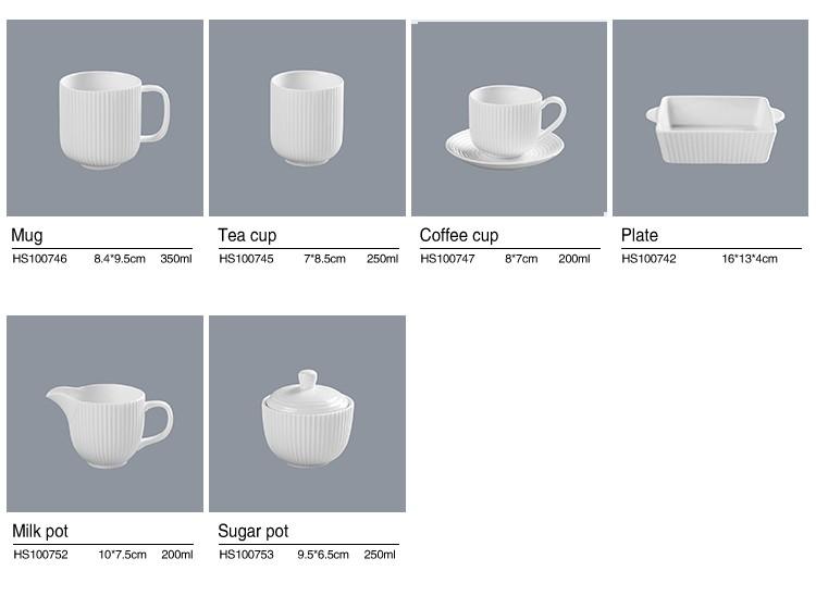 product-Hotel Tableware Supplierd Tableware Set Dinnerware Set Porcelain, Restaurant Modern Luxury D-1