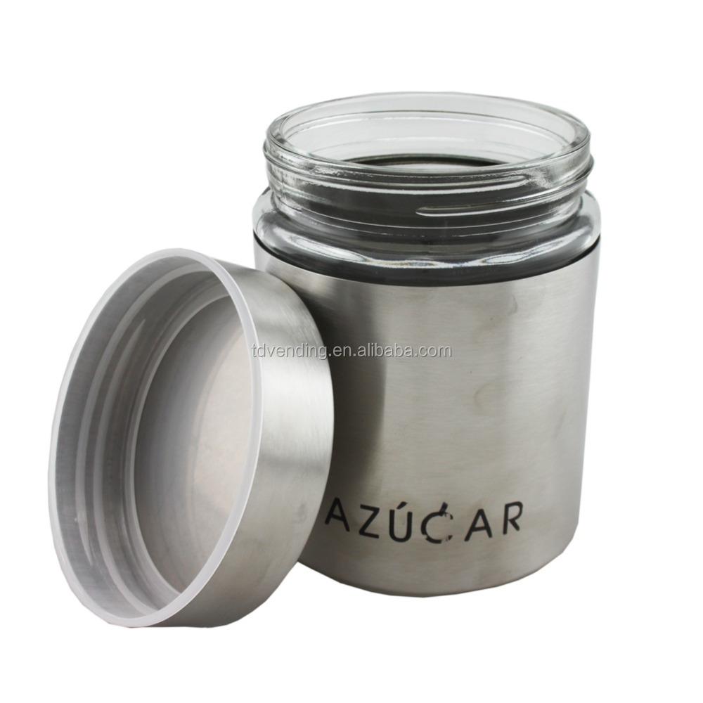 Venta al por mayor frascos vidrio para cocina-Compre online los ...