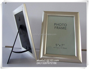 cheap wholesale PS simple design plastic photo picture frame 5x7 12x18