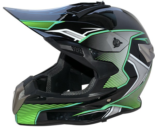 2016 Stylish atv DOT approved off road motorcycle helmet casco