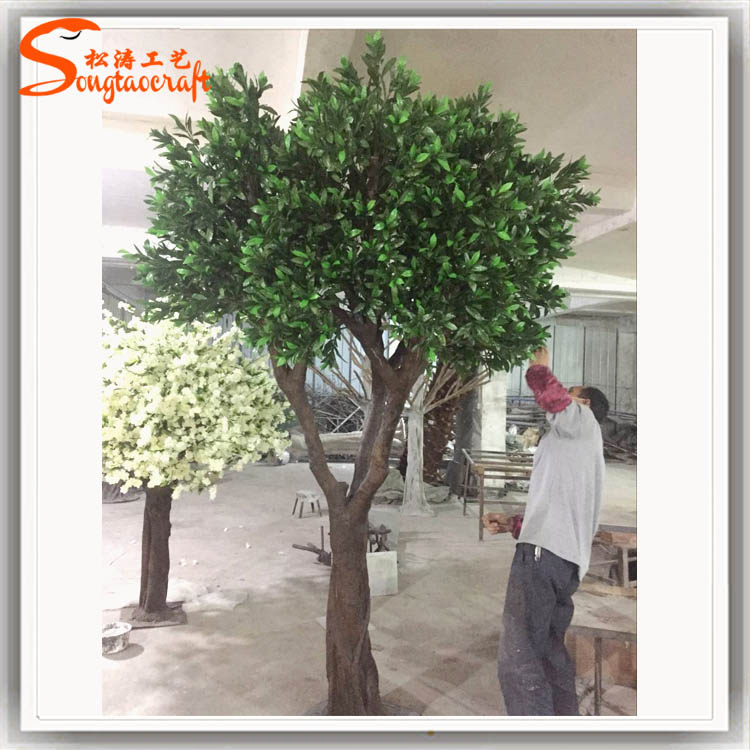 outdoor artificial branch dry tree decorative olive branch