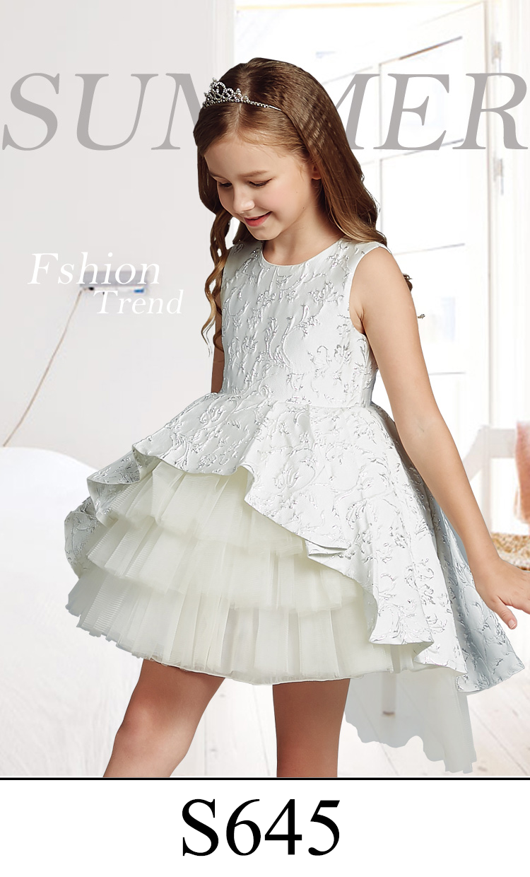 8dc244dc9 3 Years Old Baby Girl Stylish Wedding Party Dress Children Net Frock Design  For Kids