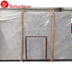 Natural White Stone Marble Slab For Bathroom Design,Bianco Carrara White Marble Slab Table Tops