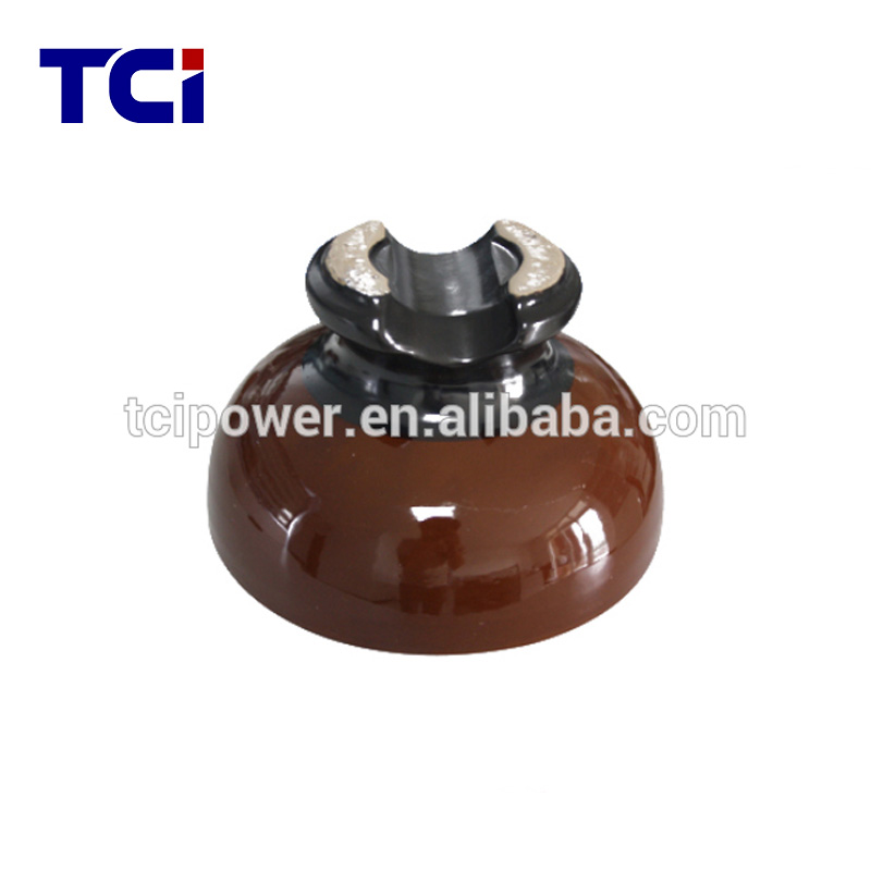 55-3 Pin insulator porcelain material insulator for high voltage