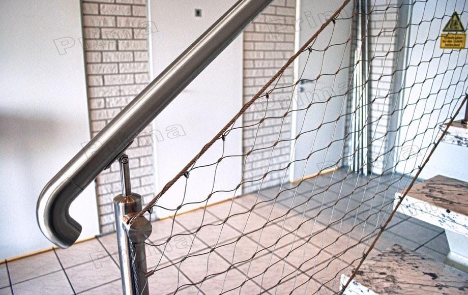 de acero inoxidable perfil de barandilla pasamanos de la escalera interior interior barandillas y barandilla