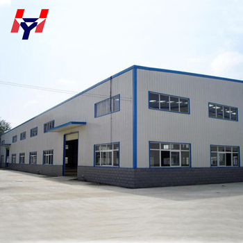 Wide Span Prefab Steel Structure Factory Building Design