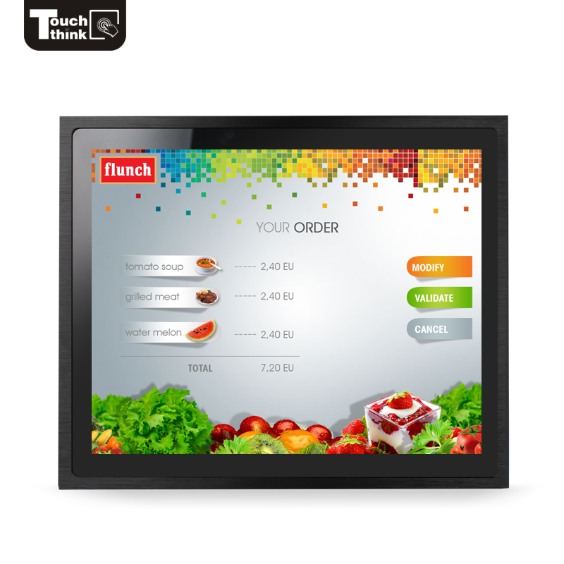 "wireless touch screen monitor reviews 7"" inch plc touch screen industrial use Corrosion resistance"