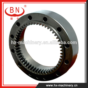 Gear Ring For Swing Device 1St Stage Applicable To Travel Reduction Gearbox Case Parts Apply To Hitachi EX60-1 Excavator