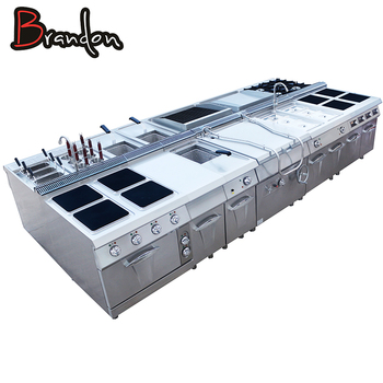 One - Stop Shopping Professional Comercial Stainless Steel Restaurant Kitchen Equipment