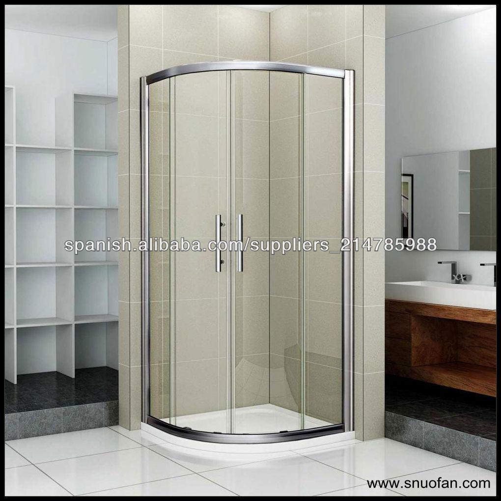 Puertas De Baño Fibra De Vidrio:snuofan de fibra de vidrio de la cabina de ducha de vidrio puerta de