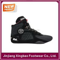 Mens Gym Shoes Weight Lifting High Top Boots Bodybuilding MMA Boxing Training MMA Wrestling Boxing Kickboxing Gym Boots