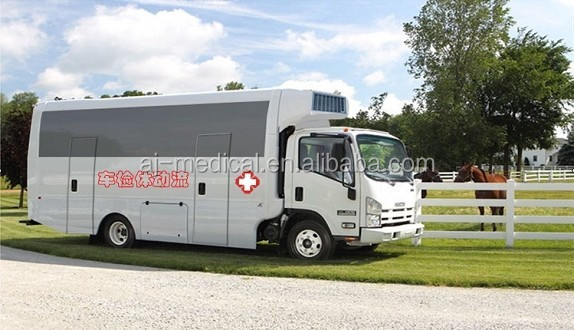 Mobile Hospital Blood Collection Mobile Medical Truck
