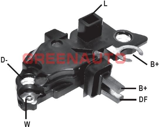 car alternator voltage regulator f00m145229 for volvo s80 s60 for alternator oem 0124515017. Black Bedroom Furniture Sets. Home Design Ideas