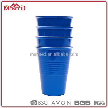 Simple design melamine reusable plastic coffee cups 600ml reusable coffee cup