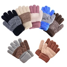 Hot Fashion Winter Warm Gloves Kid Boy Girl's Warmer Mittens Finger Gloves
