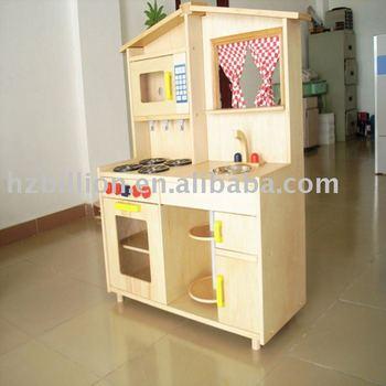 Wooden Children Kitchen Furniture Toys