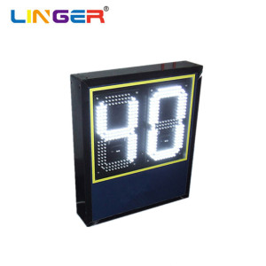 16'' White Color Electronic Wireless Led Basketball Shot Clock for Sport Game