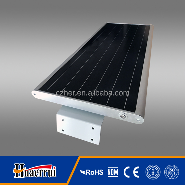 20w solar led street light with integrated design