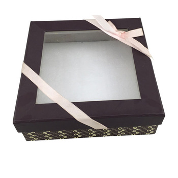 Clear Window Decorative Gift Box With Lid Buy Gift Box With Lid Decorative Gift Box Clear Window Gift Box Product On Alibaba Com