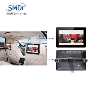 With Gps Touch Screen Pc Lcd Display Taxi Advertising Multimedia Player Car Headrest Monitor