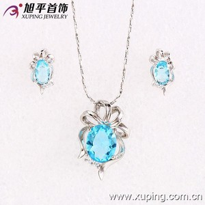 Hot Sale Synthetic CZ Xuping Jewelry Set