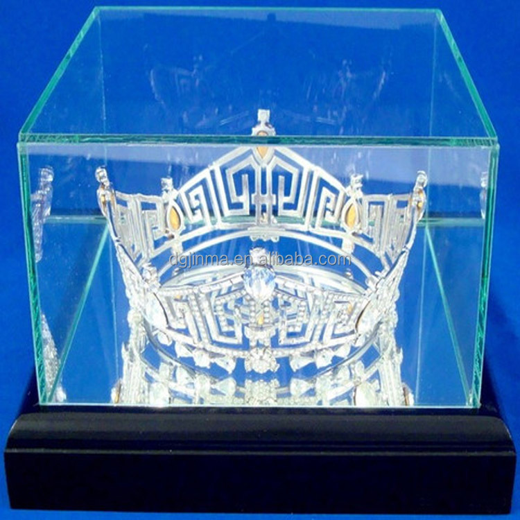 Fashional Crown Tiara Display Case For Bride Or Pageant