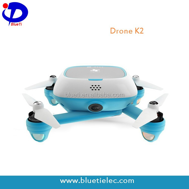 K2 foldable design professional photography selfie quad copter drone with sony 4k HD camera