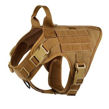 Customized Adjustable Non Pull Tactical Vest Military Dog Harness
