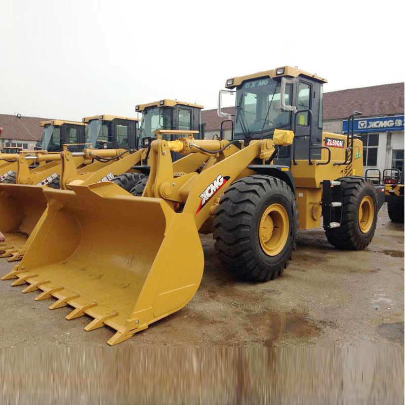 XCMG dealer chinese large wheel loaders ZL50GN