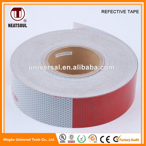 High Brightness colorful clear Checkered reflective tape