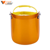 Cheap price yellow lightweight industry use safety welding face shield visor