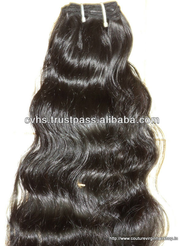 Bulk hair products unprocessed ordorless natural color wholesale virgin indian hair, Indian hair weft