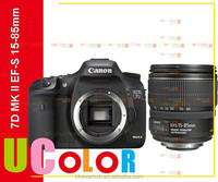 Genuine Canon EOS 7D Mark II DSLR Camera Body with EF-S 15-85mm f3.5-5.6 IS USM Lens
