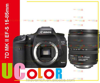 Genuine Canon Eos 7d Mark Ii Dslr Camera Body With Ef-s 15-85mm F3 ...
