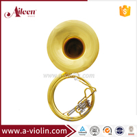 Bb Key Yellow Brass Cupronickel Piston Jinbao Sousaphone For Sale (SS100G)