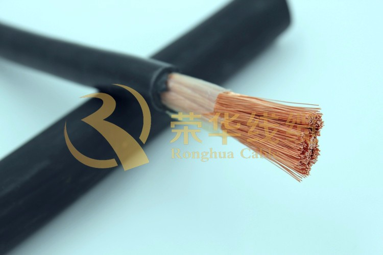 Copper Flexible Electric Wire Welding Cable Specifications Rubber ...