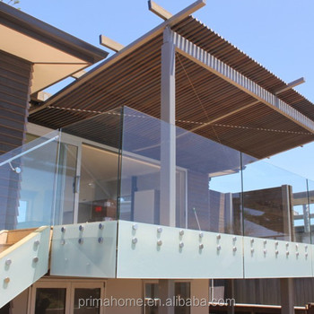 Frameless Glass Balcony Fencingfancy Balcony Railings Design