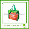 high-quality strawberry pp non woven tote bag