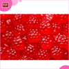 Raspberry Shape Sweets / Halal Soft Jelly Berry Shaped Gummy Candy