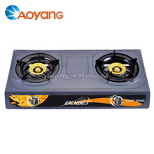 Wholesale steel wood gas stove 2 burner gas stove BW-2014