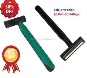 HW-B229GL Flexible razor blade high quality half discount wholesale promotion razor