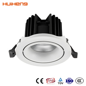 Top Quality Portable Mini Power Recessed Led Spotlight Housing Price