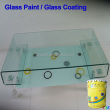 Glass paint- Waterbased glass mask spray transparent glass spray coating