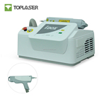 Single double pulse nd yag laser q switch machine for post inflammatory hyperpigmentation and tattoo removal