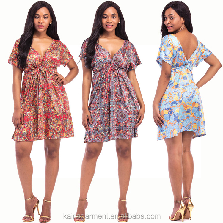 c0d57b036 Ladies western fat sexy night dress plus size floral design african dresses  for women
