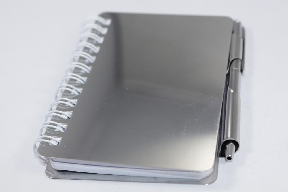 Oem Promotional Custom Recycled Aluminum Notepad Notepad
