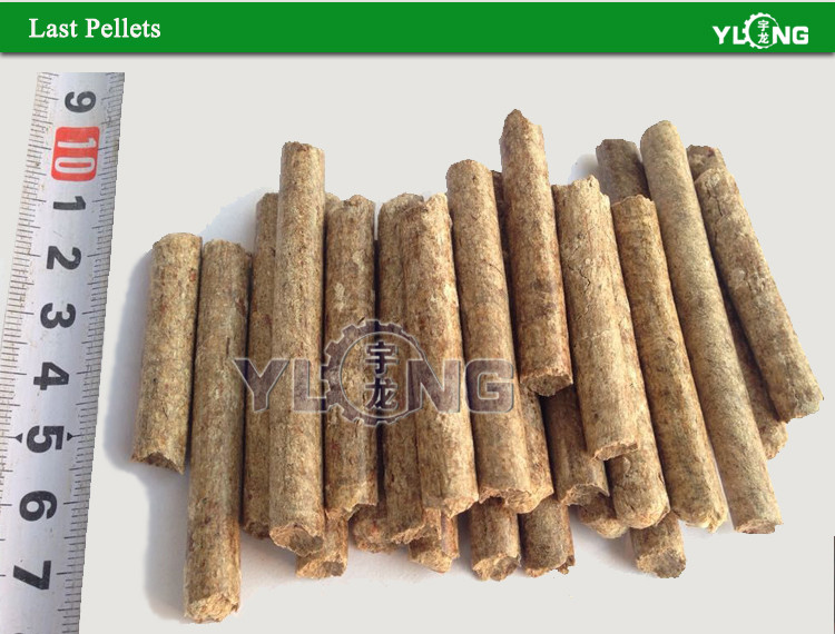 Wood Pellet Produce ~ Wood sawdust pellet machine produce pellets from dry