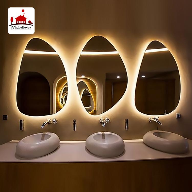 Venta al por mayor espejos grandes baño-Compre online los mejores ...