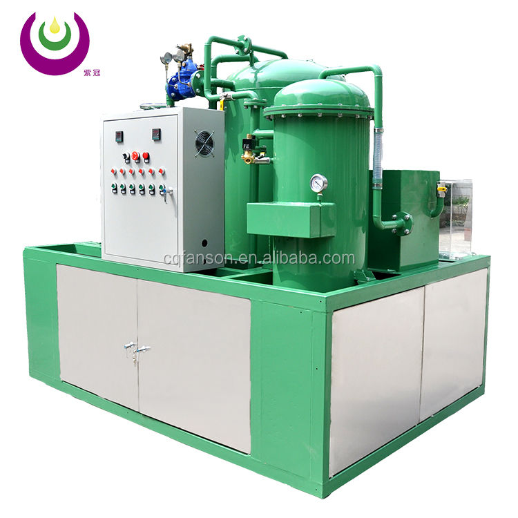 Used oil purification machine/lube oil treatment plant